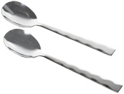 JD Diffusion 8020596 Stainless Steel Salad Servers 25x4x2 cm