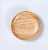 Heart & M Japanese-style creative wooden melon seeds dish fruit plate solid wood plate