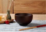 Heart & M Natural Amethyst Chestnut Bowl Green Plant Paint Rice Bowl Bowl Bowl Bowl , s