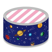 Big dark blue-purple outer space Deco Tape packing tape by Mind Wave