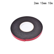 Black Double Sided Foam Tape Adhesive Sponge Mounting Tape for Phone Screen Dust Proof Seal