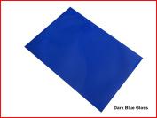 Dark Blue GLOSS FINISH Sticky Back Self Adhesive A4 Sheet Craft DC FIX Vinyl Sticker
