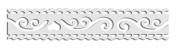 Toga MT136 Lace Design Washi Tape White 1.5 X 300 X 0.1 cm