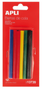 APLI 941771 – 10 Bars of Silicone Tail Hot, 7.5 mm