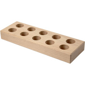 Glue Stick Holder, size 24,5x8x3 cm, hole size 26cm, empress wood, 1pc