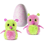 Hatchimals Glittering Garden - Hatching Egg – Magical Interactive Creature - Gleaming Burtle with Soft Shimmering Fur and Twinkling Wings– Pink/Green by Spin Master