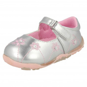 Infant Girls Cutie Shoes With Flower Detail H2213