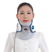H.ZF Inflated Air wave Neck Collar Cervical Traction Device Neck Support Posture Corrector Neck Brace Relief the Pain Health Care