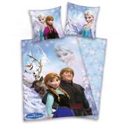 Frozen Reversible Bedclothes 135x200 cm/Pillowcase 80 x 80 cm Flannel