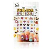 Get Emojinal Nail Art Stickers