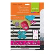 Vaessen Creative 5x Adhesive Glitter Paper 160g A5 Assortment 1, Sortment