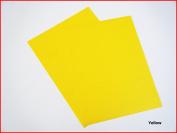 Yellow Matte Sticky Back Self Adhesive A4 Sheet Craft DC FIX Vinyl Sticker 0895