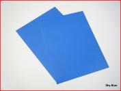Sky Blue Matte Sticky Back Self Adhesive A4 Sheet Craft DC FIX Vinyl Sticker 0107