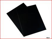 Black Matte Sticky Back Self Adhesive A4 Sheet Craft DC FIX Vinyl Sticker 0111