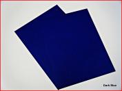 Dark Blue Matte Sticky Back Self Adhesive A4 Sheet Craft DC FIX Vinyl Sticker 0897