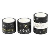 UOOOM 7pcs Decorative Washi Tape Masking Tape Adhesive Scrapbooking DIY Craft Gift