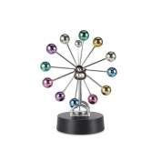 Starworld Colourful Balls Perpetual Motion Craft Ornament for Desk Home Office Decoration