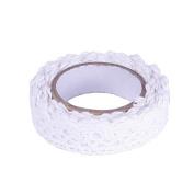 Wady DIY Self Adhesive Lace Washi Tape Trim Ribbon Cotton Fabric Tape Decor Craft