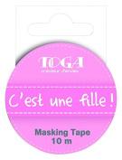 Toga MT26 Masking Tape It's A Girl Washi Tape – 5.5 x 7 x 1.5 cm