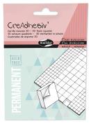 """Maildor """"Creadhesiv"""" 3D Foam Squares Sticker, White"""