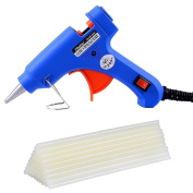 Ohuhu Hot Glue Gun with 26 pcs Melt Glue Sticks for DIY Craft Projects and Quick Repairs, 20W