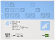 Spare liderpapel Quarter Landscape 100 H 2tca-06 Table 3 mm 2 Holes with Margin