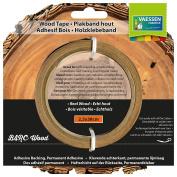 Vaessen Creative Wood Tape, Birch Wood, Light Brown, 2.5 x 38 cm