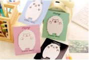 Affe 4pcs Cute Sheep & Panda Memo Pad Sticky Notes Memo Notepad