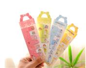 Affe 5 pcs Lovely Bowknot Memo Pad Kawaii Paper Sticker Post It Sticky Notes Stationery