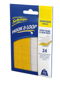 "Sellotape ""Hook & Loop"" Removable Adhesive Pad"