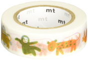 "MT ""Artist Saul Bass Animals"" Washi Masking Tape"