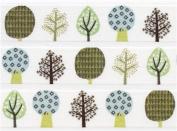 white trees Washi Masking Tape deco tape Shinzi Katoh Japan