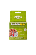 Peelable Glue Dots - 200 removable glue dots on a roll - Double-sided, Sticky, Adhesive Dots for Creative Hobbies, Posters, Decorations, Arts & Crafts & Other Projects