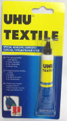 UHU Textile Fabric Glue Adhesive 19ML Fast Binding Adhesive Solvent Free