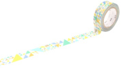 "mt masking tape mt ""Sankaku Blue"" Washi Masking Tape"