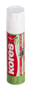 Kores Eco Glue Stick, Solid, Washable, Non-toxic, 20g, Blister Pack of 2