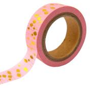 Toga MT109 Tape Masking Tape Washi Tape Gold Pendants/4 x 9 x 5 cm Pink