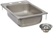 John Boos PB-DISINK101405 Deck Mount Pro-Bowl Drop-In Hand Sink, 36cm Length x 25cm Width x 13cm Depth