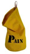 """Made In France 100% Cotton Fabric h37x28 cm Yellow """"Bread Bag BALUCHON"""