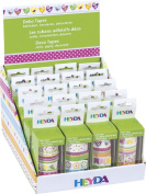 "Baier Schneider & Adhesive Decorative Display ""Spring"" Tapes, adhesive tape size (Removable Tape"