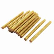 Move & Moving(TM) 20 x Glitter Gold Tone Hot Melt Glue Sticks 7x100mm for Arts Crafts