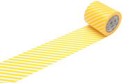 MT Casa Deco 50 mm Stripe Washi Masking Tape - Yellow