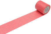 MT Casa Deco 50 mm Stripe Washi Masking Tape - Red