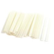 50 x Clear White Hot Melt Glue Gun Sticks 11cm x 180mm for Arts Crafts