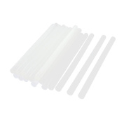 20Pcs 11x200mm Hot Melt Glue Adhesive Stick Clear White for Crafts