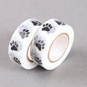 Animal Paw Washi Tape, Craft Decorative Tape by SHOKK™