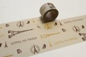 Paris Eiffel Tower Washi Tape, Craft Decorative Tape