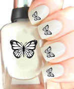 Easy to use, High Quality Nail Art Decal Stickers For Every Occasion! Ideal Christmas Present / Gift - Great Stocking Filler Butterfly