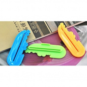 HuaYang Nove Design Plastic Toothpaste Tube Squeezer Easy Dispenser Rolling Holder Bathroom 3Pcs