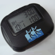 Interval Sports Timer & Stopwatch - Boxing Training/Martial Arts/MMA/Circuit Training/Weightlifting Black..